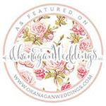 Savannah Rae Beauty Featured and Published on Okanagan Weddings
